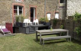 Appartement RDC avec terrasse et jardin, 100m du port classé 3 étoiles