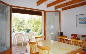 Narbonne Plage (11) - Quartier des Karantes - Résidence le Mas de la Mer. Pavillon 2 pièces mezza...