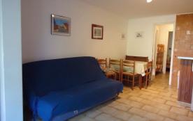 Argelès sur Mer - Appartement 2 pièces cabine en rez-de-chaussée.