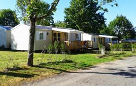 Camping Le Domaine de Bréhadour, 129 emplacements, 76 locatifs