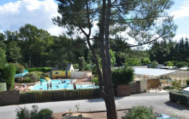 Camping Les Pins, 197 emplacements, 45 locatifs