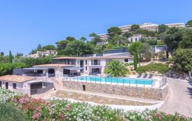Villa luxe piscine  vue mer Cannes