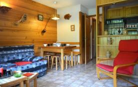 Appartement 3 pièces de 40 m² environ pour 6 personnes, la résidence Alpina B est située dans le ...