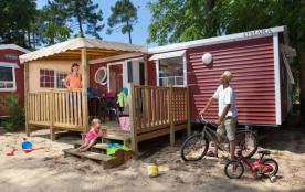 Aquatique Club Camping LA PINEDE, 164 emplacements, 283 locatifs