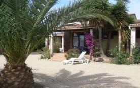 Location villa à Solaro en Haute-Corse sur plage de sable blanc