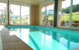 Au Haut de la Goutte, location vacances avec piscine intérieure