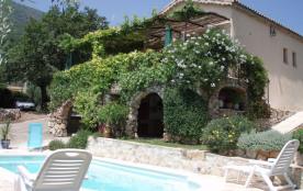 Villa de vacances avec piscine à 10km de la mer proche de Nice
