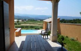 Belle maison provençale avec piscine privée, 3chs, garage, pool house, grand terrain, vue magnifique LUBERON - Gargas