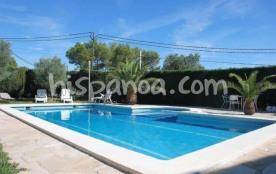 Location villa de vacances pour 11 pers avec grande piscine privée  garcia