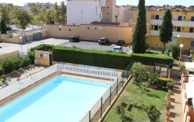 Gruissan (11) - Secteur port - Résidence Le Logis du Languedoc. Appartement deux pièces - 30 m² e...