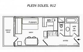 Studio 3 personnes (701)