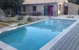 Location saisonnière villa 5 pièces Ferrières les Verreries (34).