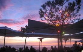 Le Coucher de soleil à la Corniche