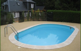 """vue de la maison """"auréa"""" de la petite piscine"""