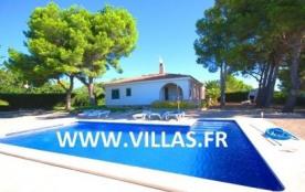 """Belle villa typique espagnole située dans une zone tranquille de l'urbanisation """"Las Tres Calas"""" ..."""