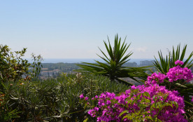 Appartement/Villa dominant Cannes et Mandelieu, vue mer 6/8 personnes