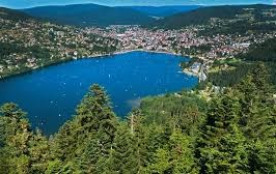 GERARDMER à 5 km du centre ville ,  silence  verdure, vue panoramique  sur vallée et montagnes. Gite de France **