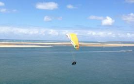 Depuis la dune, vue banc d'Arguin
