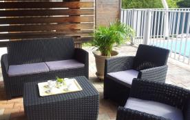 Location vacances Sud Cévennes - Maison avec piscine privative -