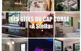 les gites du cap corse situés sur la côte ouest du Cap Corse et proposons plusieurs types de logement - Olmeta-di-Cap...