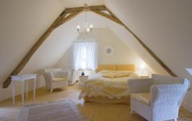 chambre à l'étage 1 lit double