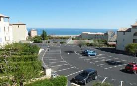Résidence les Terrasses de la Méditerranée - Appartement 2 pièces cabine avec loggia, vue mer.