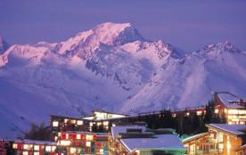 Le Mont Blanc vu de la résidence
