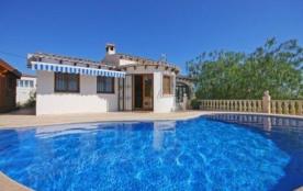 Villa OL TO - Jolie villa de plein pied avec piscine privée située à Calpe.