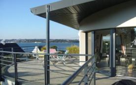 maison   kermajo 4 clés vacances vue rade de Brest a 180°