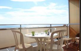Port-la-Nouvelle (11) - Quartier plage - Résidence L'Eldorado. Appartement 2 pièces - 40 m² envir...