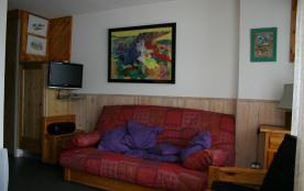 Salon avec Couchage