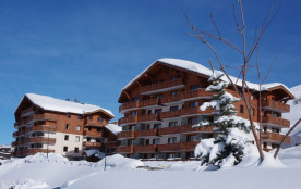 La résidence Les chalets de l'Adonis constituée de 2 gros chalets dans le quartier des Bruyères à...