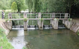 "La rivière ""La Rimarde"""