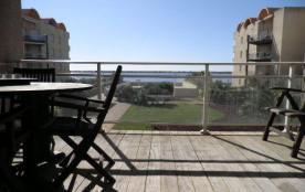 Appartement 4 pièces de 80 m² environ pour 6 personnes, belle résidence sécurisée sur la plage du...