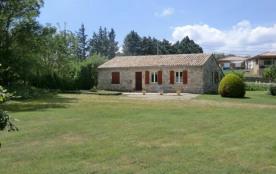 Gîtes de France à 10 minutes d'Aubenas, maison indépendante en partie en pierre aménagée sur un t...