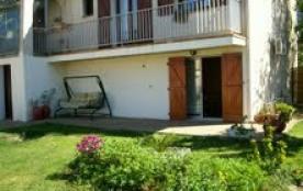P2 45 m2,indépendant  rez de chaussée villa ,quartier calme , avec jardin , mur de clôture , parking intérieur