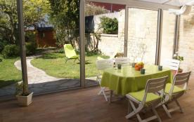Rochefort -proche thermes et centre ville- maison rdc- spacieuse jardin véranda