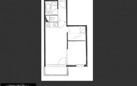 Studio cabine 4 personnes (322)