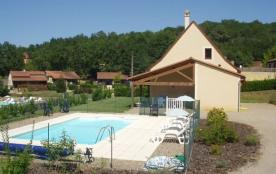 *maison de vacances avec piscine privée.