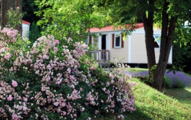 Flower Camping LE TEMPS DE VIVRE - Mobil-home Confort+ 27m² (2 chambres) avec terrasse intégrée