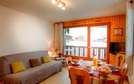 Appartement 3 pièces de 37 m² environ pour 6 personnes situé à 300 mètres des pistes, la Résidenc...