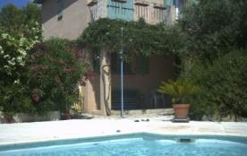 location gîte de charme avec piscine privée chauffée - Cotignac