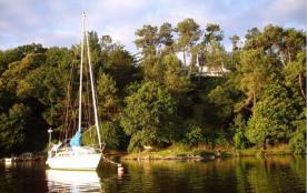 Maison surplombant la rivière de la Vilaine avec vue extra