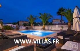 Villa AB Mac - Belle villa de plain pied située à 1 km de la magnifique plage de sable de La Fossa.