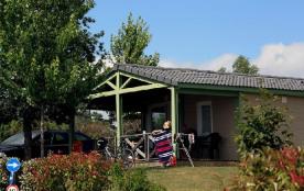 Camping Les Hameaux de Miel - Chalet 4 pers