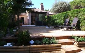 joli mazet golfe de St Tropez Domaine Font Mourier - 3 piscines - 2 tennis