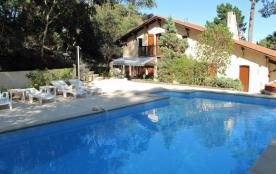 """""""LA BELLE LANDAISE"""" - A Hossegor, entre Soorts et Lac, villa avec piscine"""