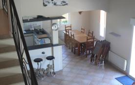 cuisine vue de la mezzanine