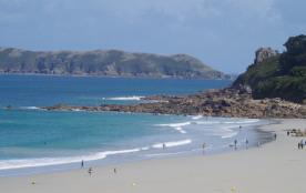 perros guirec pied de la plage de trestraou grand t 2 exposition sud 50m2 wifi gratuite 3***