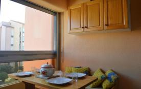 Résidence les Golfes Clairs - Appartement studio avec coin cabine de 22 m² environ pour 4 personn...